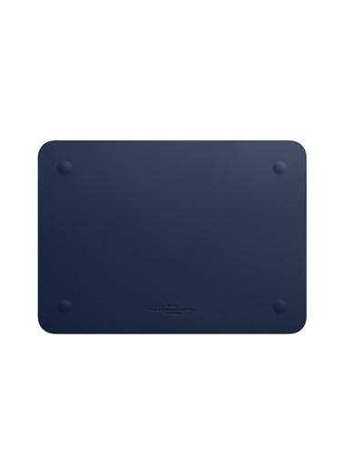 Wiwu Wiwu MacBook Pro Air Retina Çanta Koruyucu Kese Zarf Kılıf 13.3 inç Vegan Deri Sleevebag SkinPro Mavi